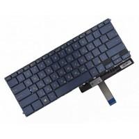 Клавиатура для ноутбука Asus ZenBook 3 Deluxe UX490UA, PWR, RU, Black, Without Frame, Backlight (0KN1-1S1RU26)