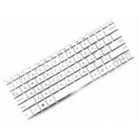 Клавиатура для ноутбука Asus EeeBook X205 RU, White, Without Frame (0KNB0-1105RU00)