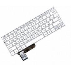 Клавиатура для ноутбука Asus X201, X201E, X202, X202E, S200, S200E RU White, Without Frame (0KNB0-1120RU00)