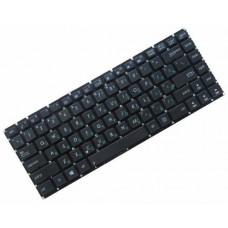 Клавиатура для ноутбука Asus K46 RU, Black, Without Frame (0KNB0-4104RU00)