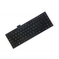 Клавиатура для ноутбука Asus S400, S451, c RU, Black, Without Frame (0KNB0-4124RU00)