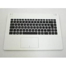 Клавиатура для ноутбука Asus X450C, X450V RU, Black, White Frame (0KNB0-4132RU00)