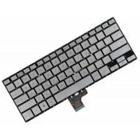 Клавиатура для ноутбука Asus GX500, NX500 RU, Silver, Without Frame (0KNB0-D620RU00)
