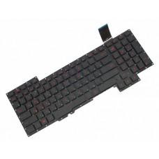 Клавиатура для ноутбука Asus G751 series RU, Black, Without Frame (0KNB0-E601US00)