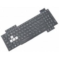 Клавиатура для ноутбука Asus GL704 series RU, Black, Without Frame, Backlight (0KNR0-6618RU00)