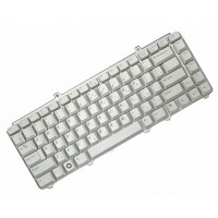 Клавиатура для ноутбука Dell Inspiron 1420, 1400, 1500, 1520, 1521, 1525, 1526, 1540, 1545, XPS M1330, M1530 RU,  Silver (0WM824)
