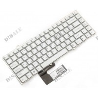Клавиатура для ноутбука Sony VGN-FW Series. RU, White (148084021)