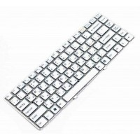 Клавиатура для ноутбука Sony VPC-EA Series RU, White, Without Frame (148792471)