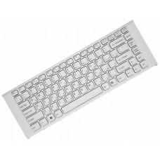Клавиатура для ноутбука Sony VPC-EA Series RU, White, White Frame (148792471)