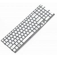 Клавиатура для ноутбука Sony VPC-EC Series RU, White, Without Frame (148793961)