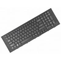 Клавиатура для ноутбука Sony VPC-EJ Series. RU, Black, Frame Black (148971861)