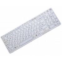 Клавиатура для ноутбука Sony SVE1511, SVE1711, SVE1712 RU, White, White Frame (149031851)