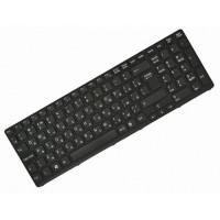 Клавиатура для ноутбука Sony SVE1511, SVE1711, SVE1712 RU, Black, Black Frame (149031851RU)