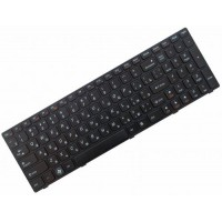 Клавиатура для ноутбука Lenovo IdeaPad G570, Z560, Z560a, Z565a RU, Black Frame, Black (25-010793)