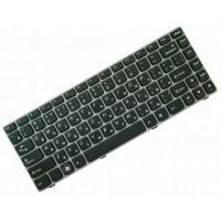 Клавиатура для ноутбука Lenovo IdeaPad Z450, Z460, Z460A, Z460G RU, Gray Frame, Black (25-010875)