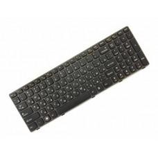 Клавиатура для ноутбука Lenovo IdeaPad G580, G585, Z580, Z585 RU, Gray Frame, Black (25-201846)