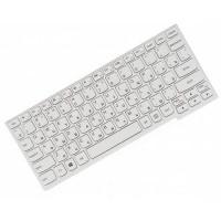 Клавиатура для ноутбука Lenovo Yoga 11S, IdeaPad S210, S215, Flex 10 RU, White, White Frame (25-202910)