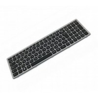 Клавиатура для ноутбука Lenovo IdeaPad Flex15, G500S, G505A, G505G, G505S, S500, S510, S510P, Z510 RU, Black, Silver Frame ( 25-211031)