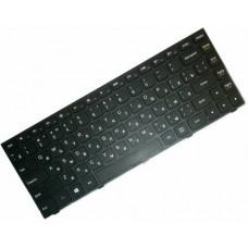 Клавиатура для ноутбука Lenovo IdeaPad G40-30, G40-45, G40-70, Z40-70, Z40-75, Flex 2-14 RU, Black, Black Frame (25-214521)