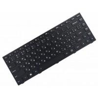 Клавиатура для ноутбука Lenovo IdeaPad G40-30, G40-45, G40-70, Z40-70, Z40-75, Flex 2-14 RU, Black, Black Frame, Backlight (25-214521)
