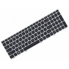 Клавиатура для ноутбука Lenovo IdeaPad G580 RU, Black, White Frame (25208185)