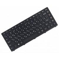 Клавиатура для ноутбука Lenovo Ideapad S300, S310, S400, S400T, S400U, S405, S410, S415, S435, M30-70, S40-70 RU, Black, Black Frame (25213422)