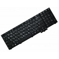 Клавиатура для ноутбука HP EliteBook 8730W RU, Black, With point stick (468777-251)