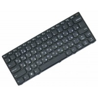 Клавиатура для ноутбука Lenovo IdeaPad 110-14ISK RU, Black, Black Frame (5N20L25788)