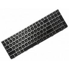 Клавиатура для ноутбука HP ProBook 4535S, 4530S, 4730S RU, Black, Gray Frame (638179-251)