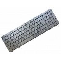 Клавиатура для ноутбука HP Pavilion DV6-6000 RU, Silver, Silver Frame (665938-251)