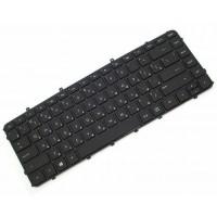 Клавиатура для ноутбука HP Envy 6-1000, Black, Black Frame (698679-001)
