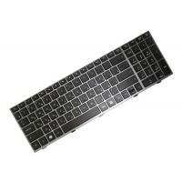 Клавиатура для ноутбука HP ProBook 4540s, 4545s RU, Black, Gray Frame (701485-251)
