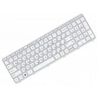 Клавиатура для ноутбука HP Pavilion 15-E RU, White, White Frame (710248-251)