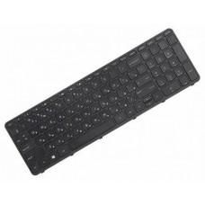Клавиатура для ноутбука HP 350 G1, 350 G2, 355 G2 RU, Black, Black Frame (758027-251)