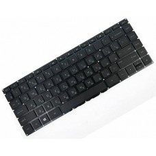 Клавиатура для ноутбука HP Pavilion 14-AC, 14-AF, ProBook 240 G4, 245 G4, 246 G4 RU, Black, Without Frame (807169-001)