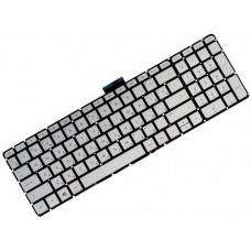 Клавиатура для ноутбука HP Pavilion 15-AB, 15-AU, 15-BC, 17-AB, 17-G, Envy M6-p, M6-ae, M7-n RU, Gray, Without Frame, Backlight (813017-251)