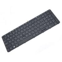 Клавиатура для ноутбука HP ProBook 450 G3, 455 G3, 470 G3, 650 G2, 655 G2, 650 G3, 655 G3 RU, Black, Backlight (841137-001)