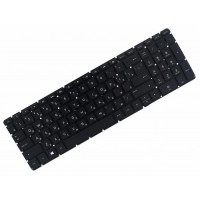 Клавиатура для ноутбука HP 250 G4, 255 G4, 256 G4, 250 G5, 255 G5, 256 G5, 15-AC, 15-AF, 15-AY, 15-BA RU, Black, Without Frame, Backlight (852042-251)