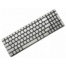 Клавиатура для ноутбука Asus G550, N550, N750 RU, Silver, Without Frame, Backlight (90NB00K1-R31RU)