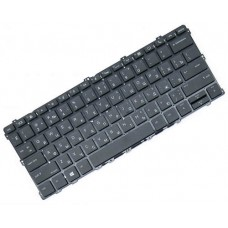 Клавиатура для ноутбука HP EliteBook X360 1030 G2 RU, Black, Without Frame, Backlight (929985-251)