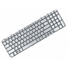 Клавиатура для ноутбука HP Pavilion DV7, DV7-1000, DV7-1051, DV7-1100, DV7-1200, DV7-1500, DV7t-1000CTO RU, Silver (9J.N0L82.10R)
