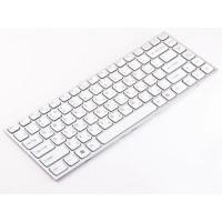 Клавиатура для ноутбука Sony VPC-Y Series RU, Silver / White (9J.N0U82.M0R)