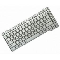 Клавиатура для ноутбука Toshiba Satellite A200, A205, A210, A215, A300, A305, M200, M205, M300, M305, L300, L305 RU, Silver (9J.N9082.D0R)