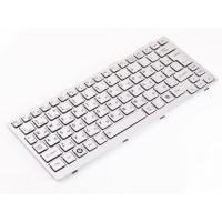 Клавиатура для ноутбука Toshiba Mini NB200, NB205 RU, Silver (9Z.N2P82.00R)