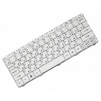 Клавиатура для ноутбука Acer Aspire One 521, 522, 532, 533, D255, D255E, 257, D260, Gateway LT21 RU, White (9Z.N3K82.Q0R)