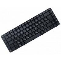 Клавиатура для ноутбука HP Pavilion DV6-3000, DV6T-3000, DV6Z-3000, DV6-3100, DV6-3200, DV6-4000 RU, Black, Frame Black (9Z.N4CUQ.00R)