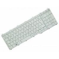 Клавиатура для ноутбука Toshiba Satellite C650, C655, L650, L655, L670, L675, Satellite Pro C650, L650, L670 RU, White (9Z.N4WGQ.10R)