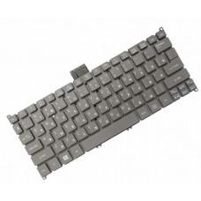 Клавиатура для ноутбука Acer Aspire S3, S5, One 756, TravelMate B1 RU, Gray (9Z.N7WPW.00R)