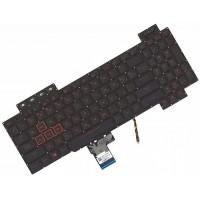 Клавиатура для ноутбука Asus FX504 series RU, Black, Backlight (AEBKL703010)