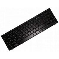 Клавиатура для ноутбука Dell Inspiron N7010, M7010 RU, Black Frame, Black (AEUM9600120)